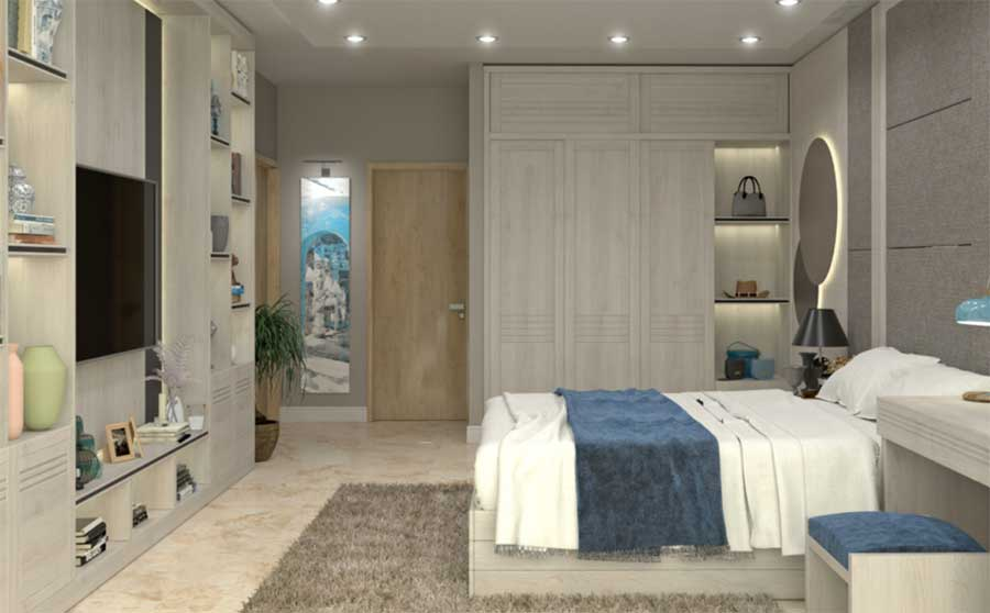 complesso residenziale a Cipro