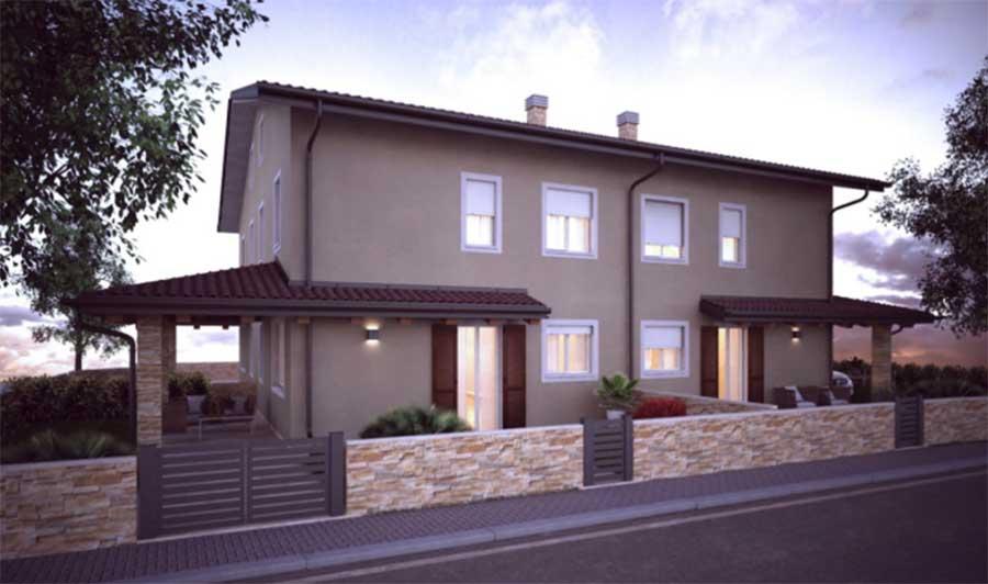 villa quadrifamiliare a Renazzo