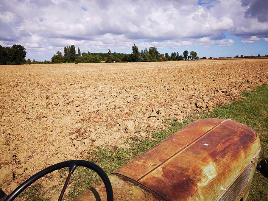 tenuta agricola nella campagna