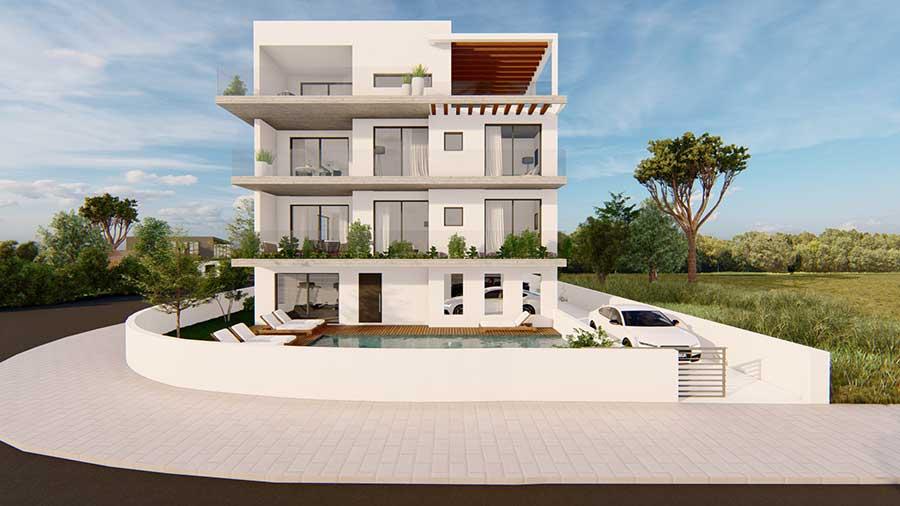 elegante complesso a Paphos