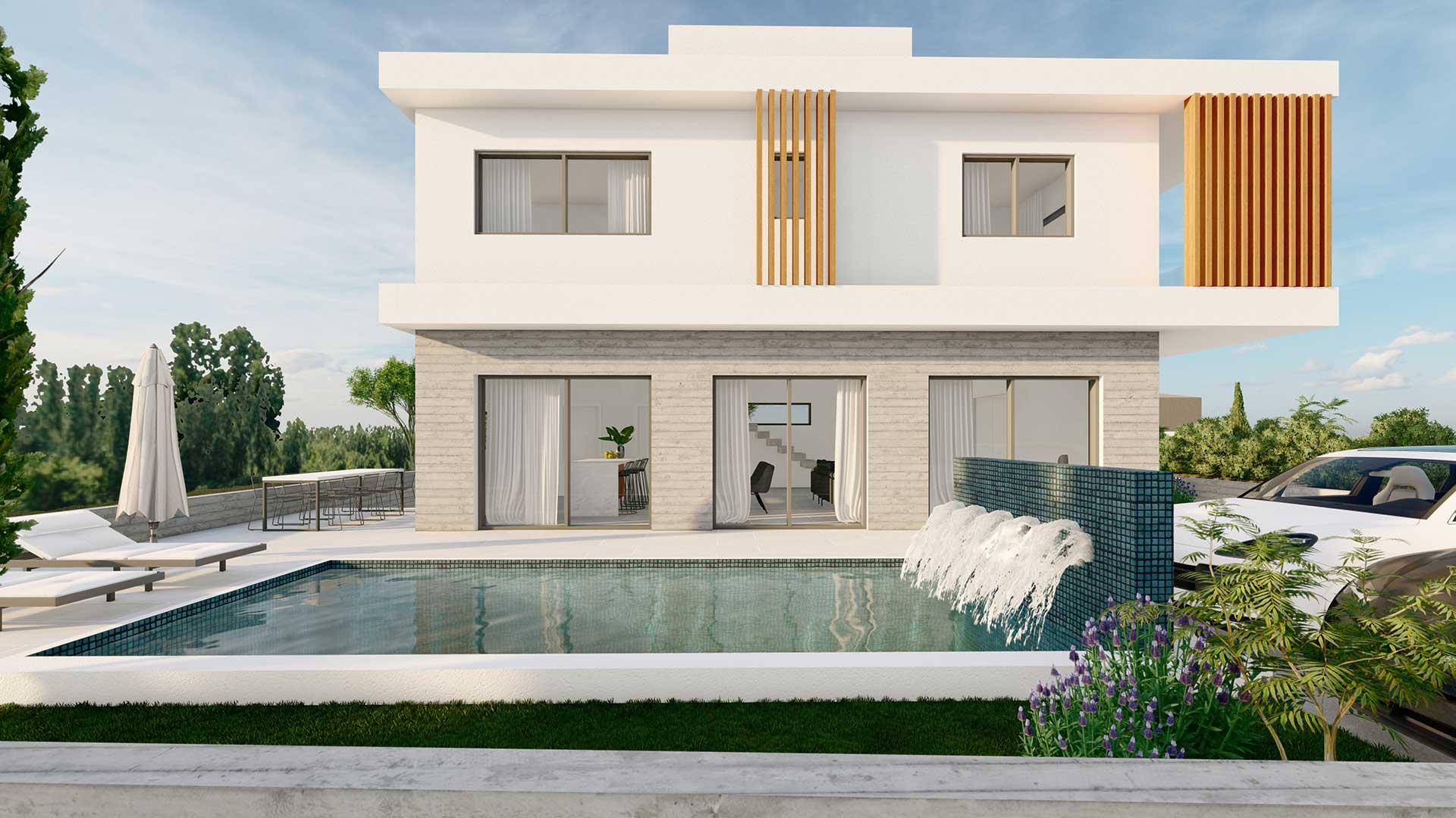 elegante villa a Paphos